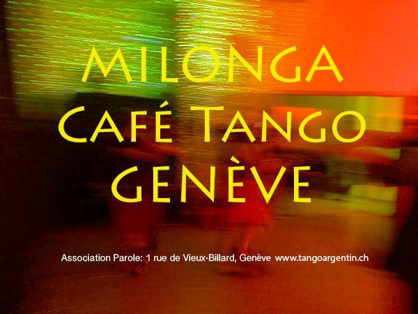 Milonga Café Tango