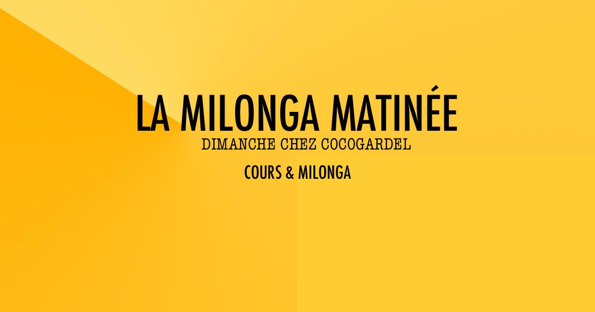 La Milonga Matinée, DJ Irma Gross